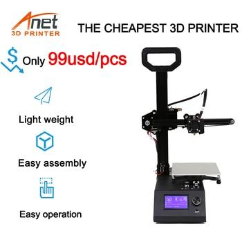 Anet A9 3D Printer Kit impresora 3d High Precision Extruder And Hotend  Reprap Desktop 3D DIY Printer with SD Card anet a8 a6 mainboard control board mother board diy self assembly for reprap 3d desktop printer diy kit