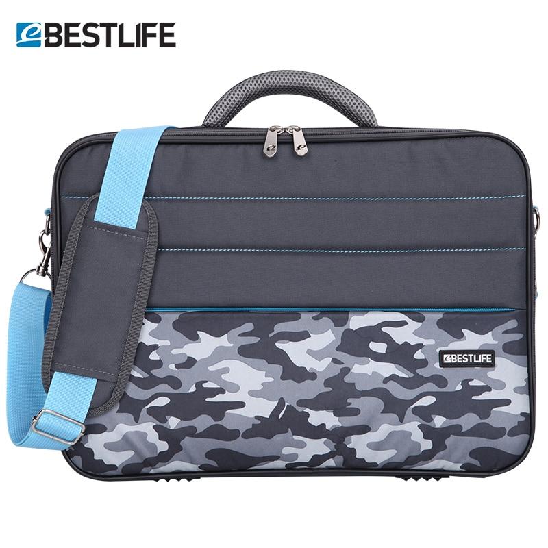 BESTLIFE 15.6'' Computer Laptop Handbag Waterproof Crossbody Bag Briefcase Camouflage Shoulder Messenger Bag Tablet Package
