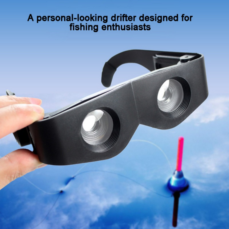 Outdoor Portable Fishing Telescope Glasses High Power HD Night Vision Fishing Glasses New