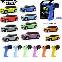 Turbo Racing 1:76 kolorowe RC Car Mini w pełni proporcjonalne z pilotem elektrycznym RTR Kit Control zabawki dla dzieci i dorośli