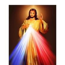 Icon Full Square Diamond Painting Religious Jesus Mosaic Needlework Gift Embroidery Sale Picture Of Rhinestones