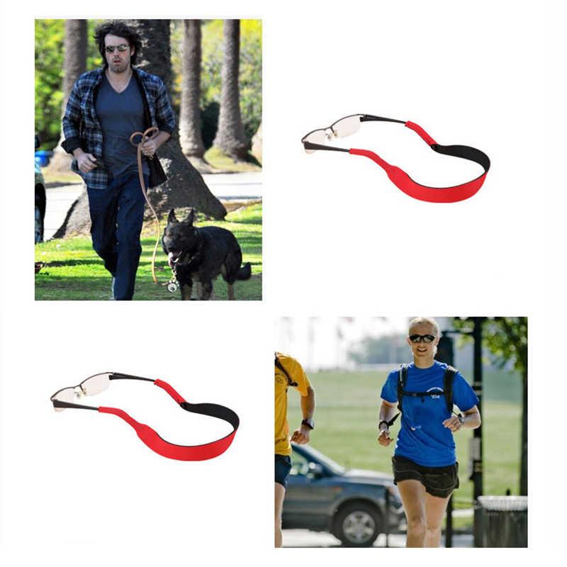 1Pc スポーツメガネストラップアンチスリップ屋外ネックストレッチコード眼鏡ストリングサングラスロープバンドホルダー眼鏡チェーン
