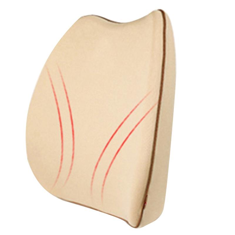 Memory Foam Lumbar Support Back Massager Waist Cushion Pillow For Chairs In The Car Seat Pillows Home Office Relieve Pain