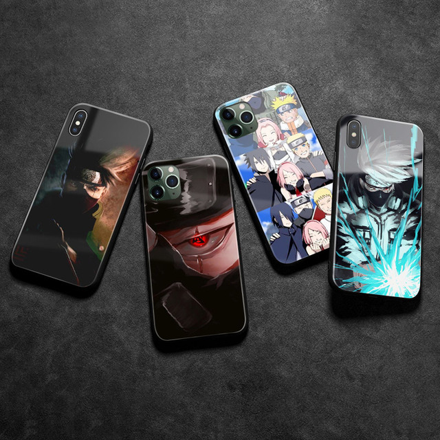 KAKASHI THEMED IPHONE CASE (8 VARIAN)
