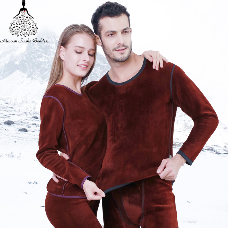 Pius Size Women's /men Thermal Underwear XL XXL XXXL Long  Johns Winter Thermal Suit Thermo Lingerie Underwear Set Male /female