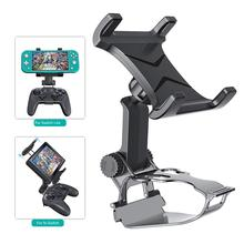 Switch Pro Controller Clip Mount Holder Pro Controller Adjustable Clamp Handle Rotate Bracket for Nintend Switch/ Lite Console