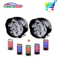 Светодиодный головной светильник для мотоцикла 3600LM, Точечный светильник для мотоцикла 18 Вт 12 в 9 светодиодный s супер яркий головной светильник для мотороллера, декоративная лампа DRL/