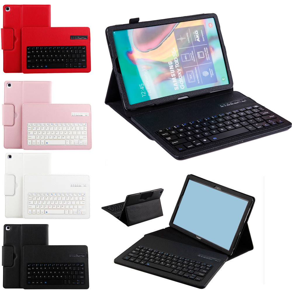 High Quality Leather Tablet Case Cover With Bluetooth Keyboard For Samsung Galaxy Tab A 10.1 2019 T510 T515 2019 New Z0905