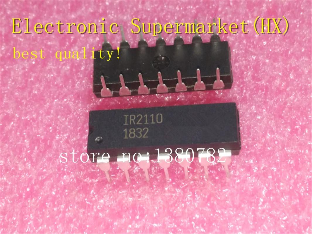 Free Shipping 50pcs/lots IR2110PBF IR2110  2110PBF DIP-14  New original  IC