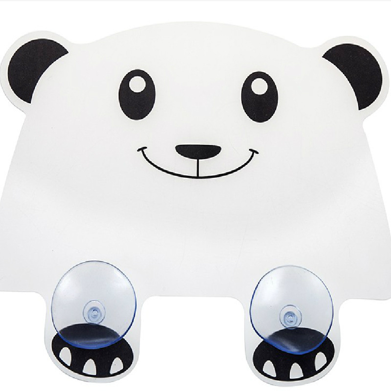 Vivid Panda Plastic Water Baffle Kitchen Sucker Water Splash Guards Protector Contra