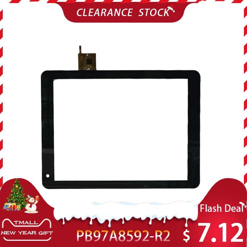 High Quality9.7 Inch Black For Texet TM-9757 3G TM-9767 3G TM-9758 3G Digitizer PB97A8592-R2 Touch Screen Free Shipping