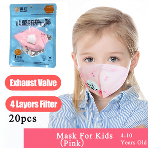 Image 1 - Spot Face Mask Mouth Masks With Valve For Kids Children Anti Dust Pollution Filter PM2.5 Protective Hygiene Respirator tapabocas