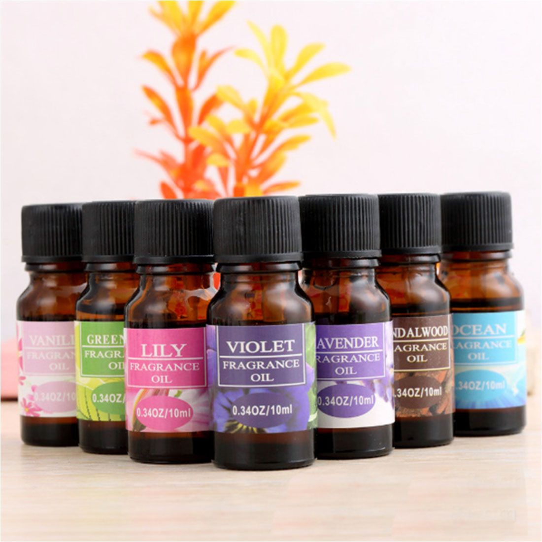 1PC 10ml Spa Soothing And Relaxing Water-soluble Essential Oil Natural Plant Aromatic Essential Oil