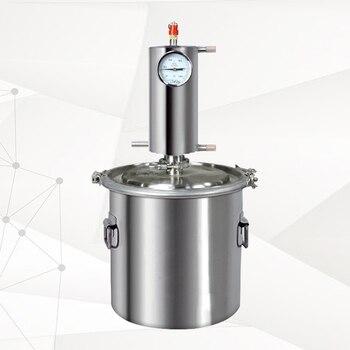 Новая Дистилляция бренди виски водка Красный медный сердечник Бытовая Дистилляция пивоваренное оборудование набор для производства алког