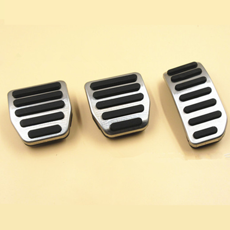 For <font><b>Volvo</b></font> <font><b>XC60</b></font> S60 V60 S80 AT and MT 2010-2015 Brake and Accelerator Pedals Cover <font><b>Accessories</b></font> image