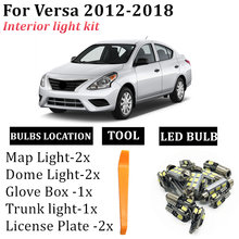 8x canbus error free для 2012 2018 nissan versa t10 гирлянда