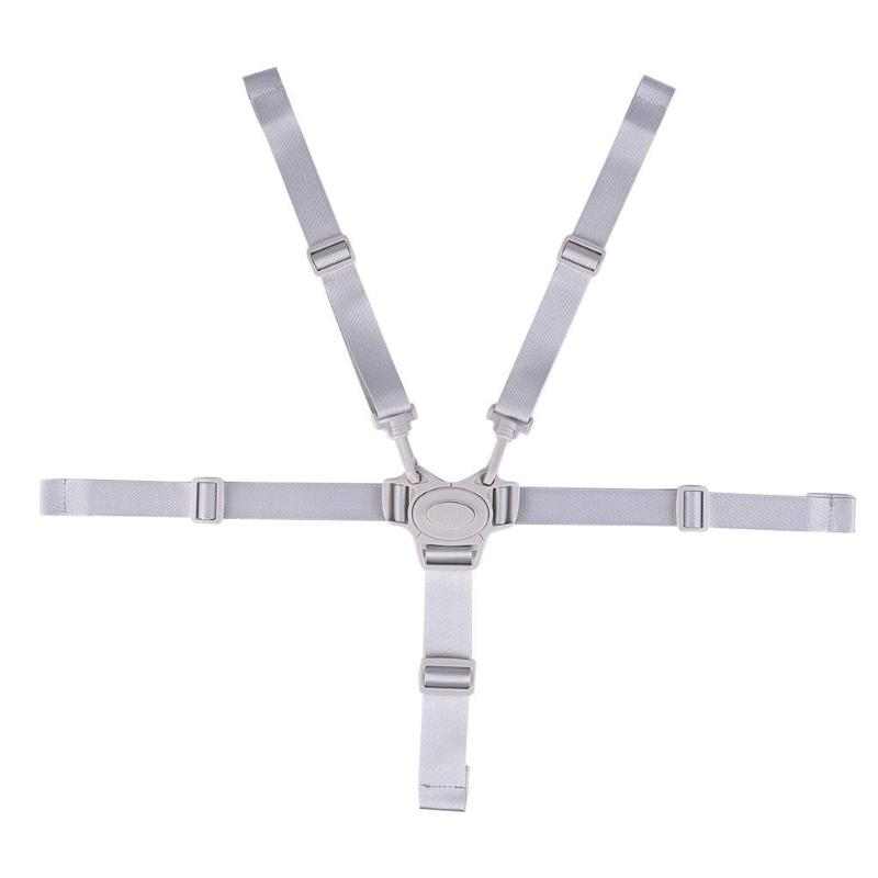 Universal Baby 5 Point Harness Safe Belt Seat Belts For Stroller High Chair Pram Buggy Children Kid Pushchair 1pc