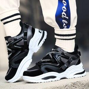 Image 3 - 2019 Harajuku סתיו בציר סניקרס גברים לנשימה רשת נעליים יומיומיות גברים נוח אופנה Tenis Masculino Adulto סניקרס