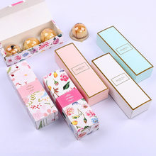 1PC Long Strip Cute Gift Box Nougat Cookie Boxes Candy Pineapple Cake Baking Paper Carton Birthday Party Wedding Wrapping Bags(China)