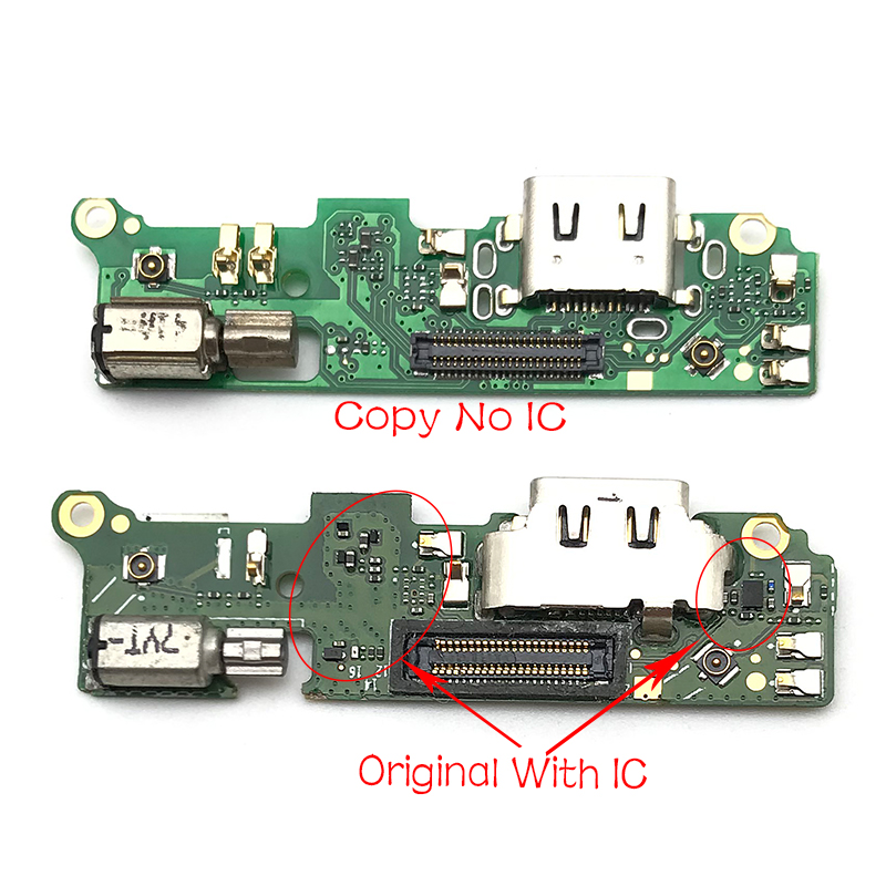 New USB Charging Port Board For Sony Xperia XA2 Dock Connector Flex Cable With Microphone Repair Parts