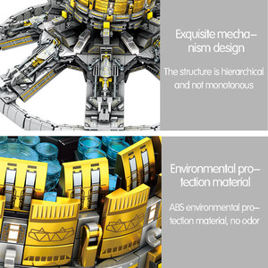 Image 5 - SEMBO 2453Pcs City Technic Assembly Building Blocks Military Wandering Earth Universe Planetary Engine Bricks Toys for Boys