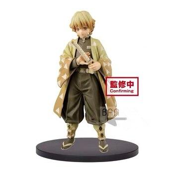 In stock Origanal Banpresto Kimetsu No Yaiba Agatsuma Zenitsu PVC figure model figurines