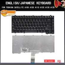 New Original Laptop keyboard For Toshiba Satellite A10 A30 A40 A50 A60 A80 J11 J32 J40 J50 J60 English/Japanese Replacement все цены