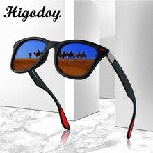 Higodoy Vintage Square Oversized Polarized Sunglasses Men Re