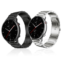 Strap Für Xiaomi Huami Amazfit GTR 2 2e/GTR 47mm/Stratos 3 GTR2 Band Smartwatch Titan Armband metall Armband Armbänder