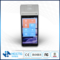 Android 9.0 mobile payment RAM2GB+ROM16GB handheld RFID terminal pos with printer 4G WIFI bluetooth GPS POS MachineZ91