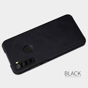 Image 5 - Caes Xiaomi Redmi 注 8 Note8 プロ Nillkin 秦シリーズ Pu レザーフリップ Redmi 注 8 ケース