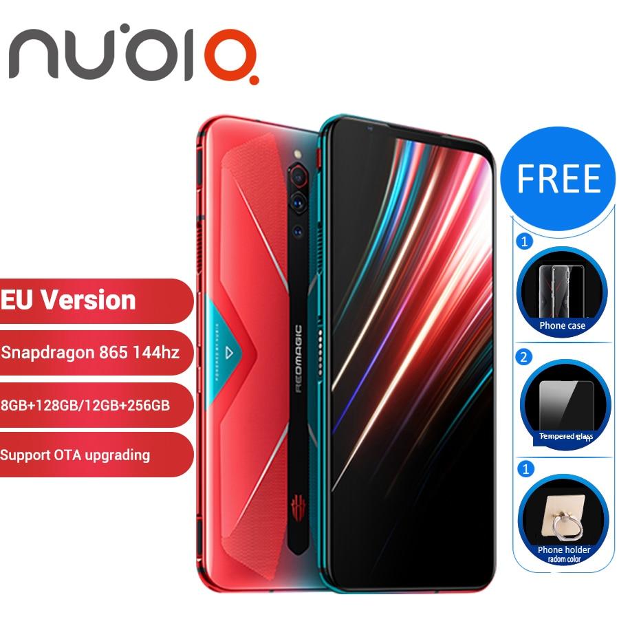 EU Version Nubia Red Magic 5G 12GB 256GB Gaming SmartPhone 128GB 8GB 6.65