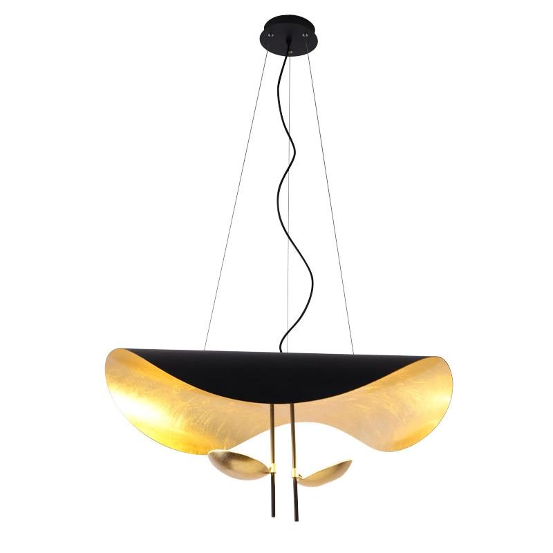 Phube Lighting Lederam Manta Pendant Light Modern LED Pendant Light Hotel Project Living Room Pendant Lamp Lustre