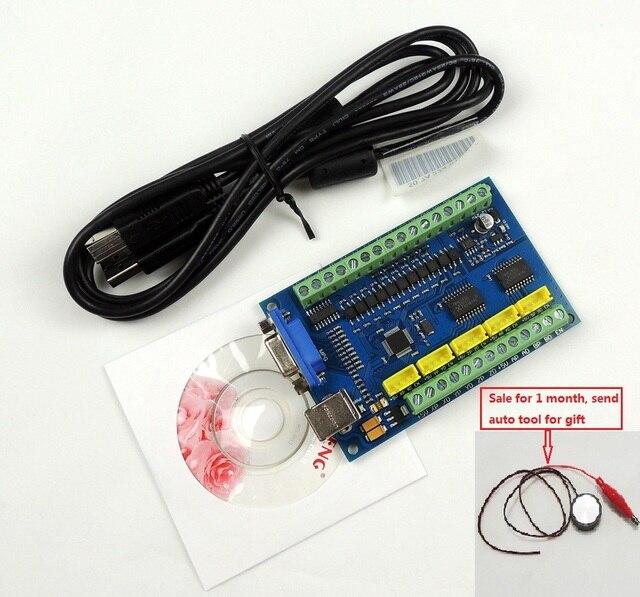 ترقية نك MACH3 أوسب 5 محور 100 كيلو هرتز usbنك السلس السائر وحدة تحكم بالحركة بطاقة لوحة القطع ل نك النقش 12 24 فولت