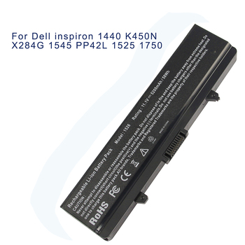 5200mAh 6 Cells Laptop Battery For DELL Inspiron 1525 1526 Inspiron1545 Inspiron1546 Vostro 500