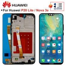2280*1080 oryginalny dla HUAWEI P20 Lite ekran LCD z ramką dla HUAWEI P20 Lite wyświetlacz ANE-LX1 ANE-LX3 Nova 3e LCD