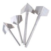 1шт новый нержавеющая сталь шпатлевка нож гипсокартон скребки инь ян строительство инструменты