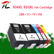 5PK 934XL 935XL Compatible  For HP934XL HP 935XL ink Cartridges hp934 For HP Officejet Pro 6812 6830 6815 6835 6230 6820 printer