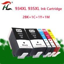 5PK 934XL 935XL Kompatibel Für HP 934XL HP 935XL tinte Patronen hp 934 Für HP Officejet Pro 6812 6830 6815 6835 6230 6820 drucker