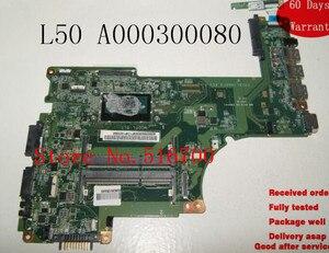 Placa,For TOSHIBA SATELLITE L50 L50-B SERIES DA0BLIMB6F0 LAPTOP MOTHERBOARD A000300080 MB048 Tested Working