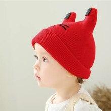 Baby  Winter Hat Cute Bear Ears For Kids Soft Elastic Wool Knit Scarf Cartoon In Girls Hats Hair Accessories