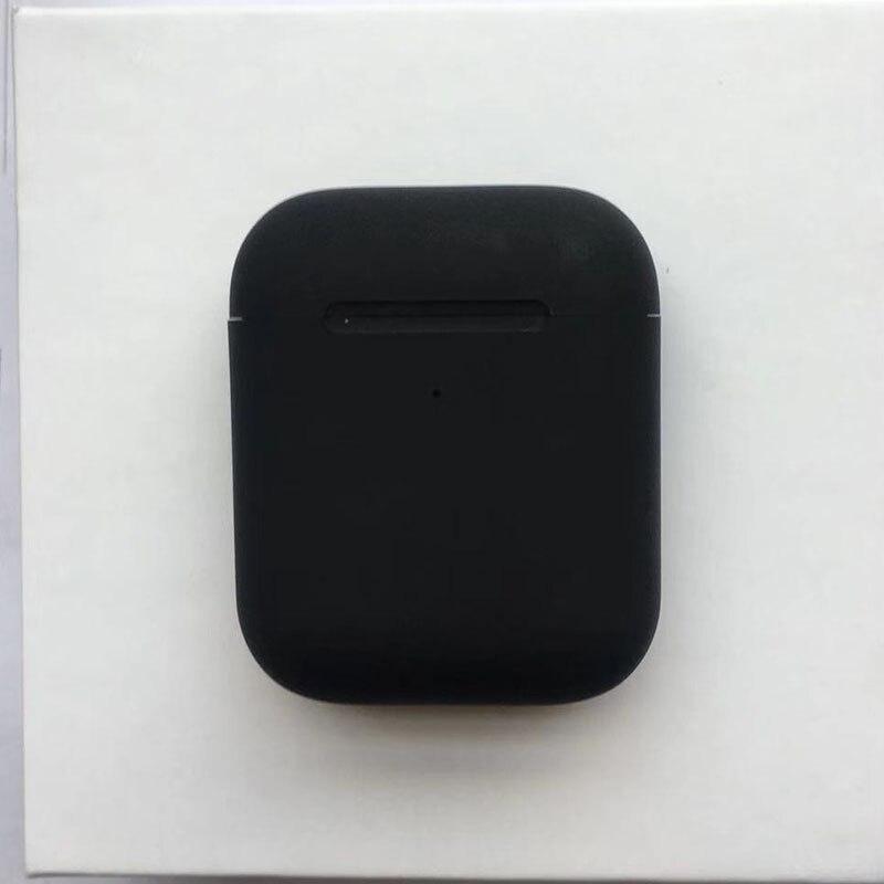 I90000 Max Tws GPS Positioning Rename Change Bluetooth Earphones Matt Black Headphones Wireless Headset Earbuds I9000 I1000000