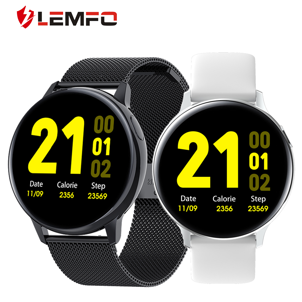 LEMFO 2020 New S30 Smart Watch Men ECG Heart Rate Body Temperature Sleep Monitor IP68 Waterproof Smartwatch for Android IOS|Smart Watches|   - AliExpress