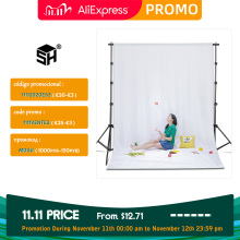 Photography Background Backdrops Green Screen Chroma Key For Photo Studio Muslin Backdrops  5 Colors
