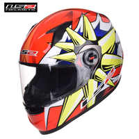 LS2 Motorrad Helm Racing Full Face Casco Capacete Casque Moto Kask FF358 LS2 Helme Helm Caschi