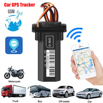 Global GPS Tracker Waterproof Built-in Battery GSM Mini for Car motorcycle cheap vehicle tracking device online software and APP image