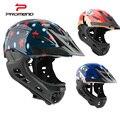 Детский велосипедный шлем с полным покрытием  велосипедный шлем для детей  безопасный спортивный шлем для горной дороги  велосипедный шлем ...