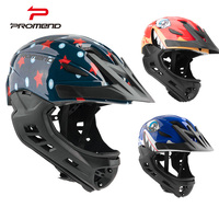 Kids Cycling Helmet Full Cover Bike Helmet For Children Safety Sport Mountain Road Bicycle BMX Bicycle Helmets Capacete Ciclismo