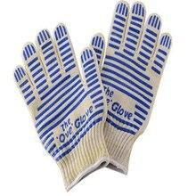1 пара высокотемпературных Противоскользящих износостойких хлопковых перчаток для барбекю, костюм для микроволновой печи