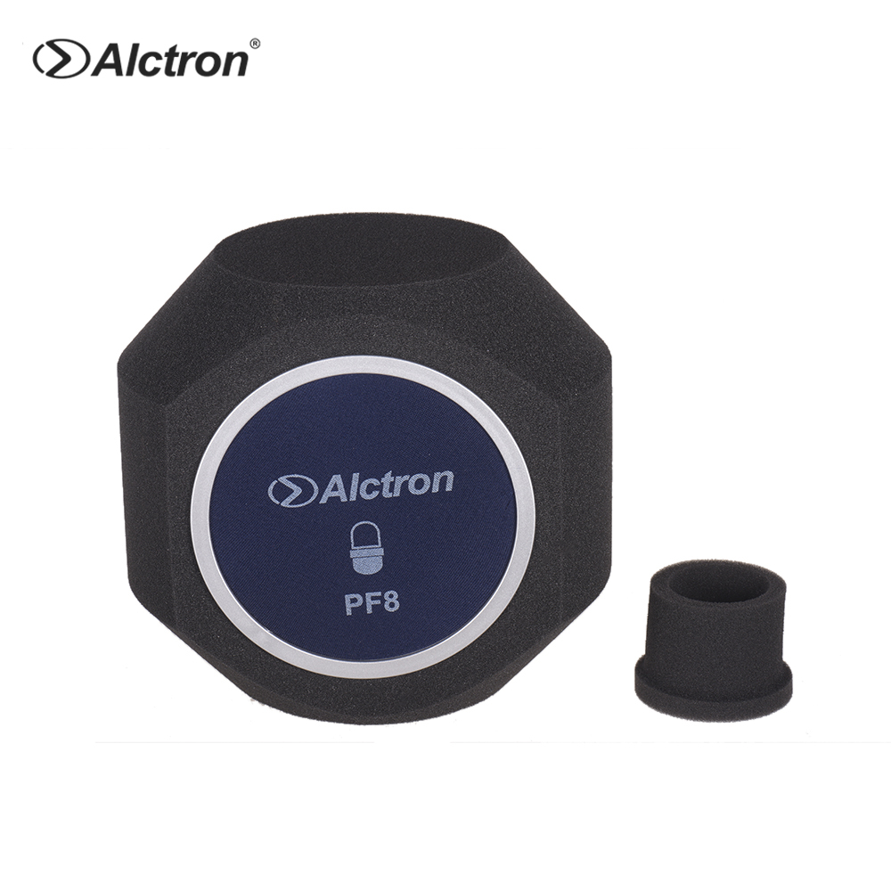 Alctron PF8 Professional Studio Desktop Recording Microphone Mic Windscreen Acoustic Filter Noise Reduction Foam Shield